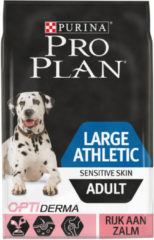 Pro Plan Large Athletic Adult Sensitive skin - Zalm met Optiderma - Hondenvoer - 14 kg