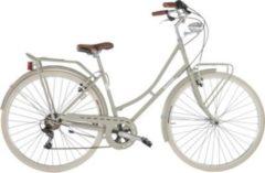 28 Zoll Damen City Fahrrad 6 Gang Alpina Viaggio... grau