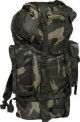 Brandit Nylon Military Backpack dark camo