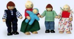 DuDu Toys Poppenhuispoppetjes - Familie Klein