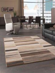 Karpetexpert.nl Patchwork Karpet Matrix 1354-70 Beige 120x170 cm