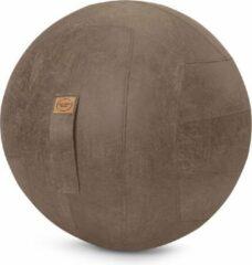Maison Woonstore Maison's Zitbal – Bruin – 65 cm – Ergonomische zitbal – Kunstleer – Thuis of op kantoor – Frankie
