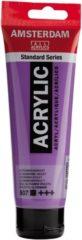 Paarse Royal Talens Standard tube 120 ml Ultramarijn violet dekkende acrylverf ultra marijn violet