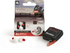 Alpine Hearing protection Alpine Motosafe Race - Motor oordoppen - Gehoorbescherming Race - Wit - 1 set
