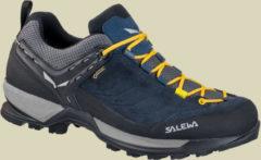 Salewa MS MTN Trainer GTX Herren Wanderschuhe/Zustiegsschuhe Größe UK 10 night black/kamille
