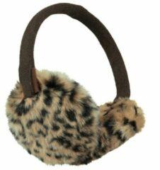 Barts - Kid's Plush Earmuffs - Oorwarmers maat One Size, bruin/zwart/grijs
