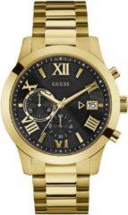 Gouden GUESS Atlas horloge W0668G8