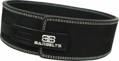 Barbelts Powerlift riem zwart - lever belt - XXL