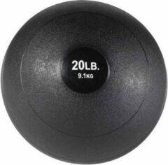 Zwarte Body-Solid Slam Balls - 20 Lb - 9,7 kg