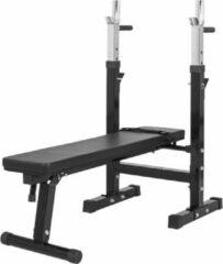 Zwarte Gorilla Sports Halterbank Verstelbare haltersteunen 200kg