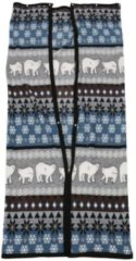 TV-Decke Eisbär, grau-blau-braun, 150 x 170 cm