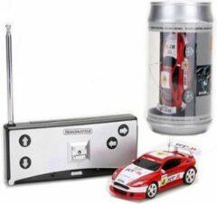 Rode DrPhone TinyCars - Sport R/C Racer Radio Besturing - 20 KM/H - RC Micro Racing Bestuurbare Auto Inclusief Pionnen – Red Storm - Spaar ze Allemaal
