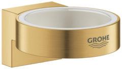 Grohe Selection houder t.b.v. zeepdispenser 41 028 Ø5.6cm of glas 41 029 brushed cool sunrise 41027GN0