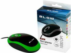 PROLECH Optische, bedrade muis WIRED MP-20 BLOW USB 100DPI groen