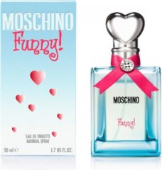 MOSCHINO MOSCHINO FUNNY FEMALE - 50ML - Eau de toilette