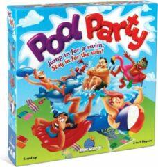 Blue Orange Pool Party - gezelschapsspel - vlooienspel