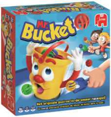 Blauwe Jumbo Mr. Bucket Kinderspel