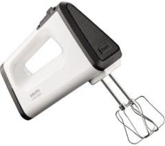 Krups Handmixer GN5041 3 Mix 5500 Plus inkl. Stabmixer Aufsatz, 500 Watt, weiß/schwarz