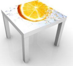 PPS. Imaging Beistelltisch - Splash Orange - Tisch Gelb Weiß Orange