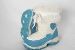 Rucanor Ice snowboot- meisjes- wit-l.blauw