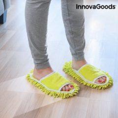 Groene InnovaGoods Slippers met Mop