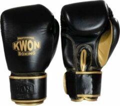 Zwarte KWON Bokshandschoenen Professional Sparring