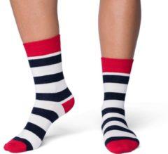 CADA Fun Sokken Dames Naadloos Katoen Multicolor Strepen 39-42 per 2 paar