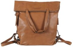 Aunts & Uncles Jamie's Orchard Pomelo Backpack / Crossover Bag cognac backpack
