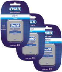 Oral-B Pro-Expert Premium Flosdraad - 3 x 40 m - Voordeelverpakking