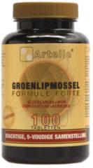 Artelle Groenlipmossel formule forte - 100 Tabletten