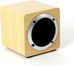 Bruine Omega OG61W Mono portable speaker 5W Hout draagbare luidspreker