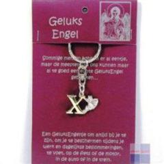 Steengoed Geluksengel Sleutelhanger X (1st)