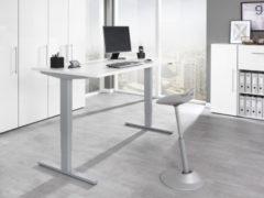 Wellemöbel Schreibtisch 'UP&DOWN 2', (B)1.400 mm, Kirschbaum