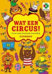 Selecta kleurboek Wat een circus! junior 30 x 21 cm papier