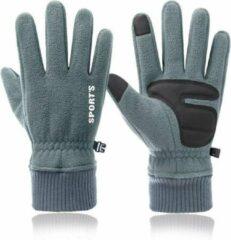 Topco Waterdichte Handschoenen met Touchscreen en Antislip - Grijs
