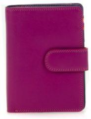 Mywalit Ladies Medium 10 CC Wallet with Zip Purse sangria multi Dames portemonnee