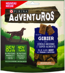 Adventuros Venision - Hondensnacks - Hert 90 g