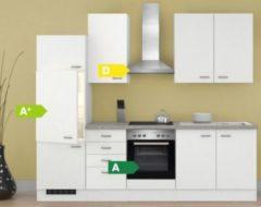 Flex-Well Küchenzeile G-270-2210 + Haube 6091 Wito 270 cm