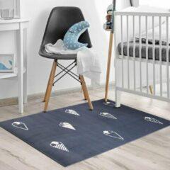 Blauwe Sens Kids Rugs Ijsjes kindervloerkleed - kindertapijt - 67 x 110 cm - wasbaar - zacht - duurzame kwaliteit - speelgoed