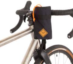 Zwarte Restrap tas voor aan stuurpen - Frametassen