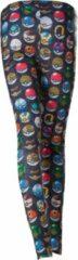 Difuzed Pokemon - All Over Printed Pokeball Legging - L