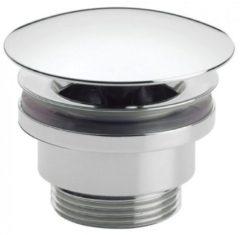 Crosswater Basin Wast afvoerplug voor wastafel met klikwaste 50mm chroom BSW0270C