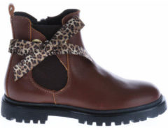 HIP Shoe Style HIP H1952 Chelseaboots Bruin Strik - Maat 35