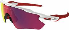 Witte OAKLEY fietsbril Radar EV Path Prizm 2019 sportbril, Unisex (dames / heren),