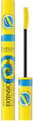 Zwarte Eveline - Volume Extension Push Up Volume & Curl Mascara Thickening & Overclocking Lashes 10Ml