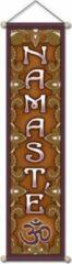 Yogi & Yogini Namaste banner klein - 15x60 - Polyester