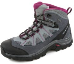 Salomon Authentic LTR GTX Women Damen Wanderschuh Größe UK 5 pearl grey/grey denim/mystic purple