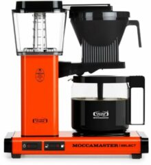Technivorm Filterkoffiemachine KBG Select, Orange - Moccamaster