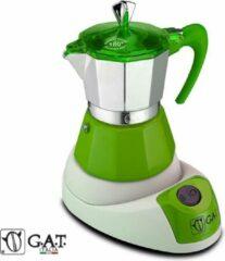 G.A.T. Italia Fanta Groen 6 kops - Elektrische percolator
