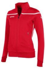 Rode Reece Australia Varsity TTS Top Full Zip Sportvest Dames - Maat L